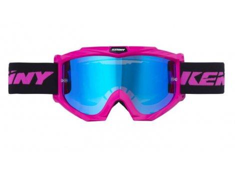 Masque VTT Kenny Track+ femme Rose Neon Pink - 2020