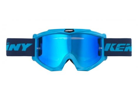Masque VTT Kenny Track+  Bleu Cyan - 2020