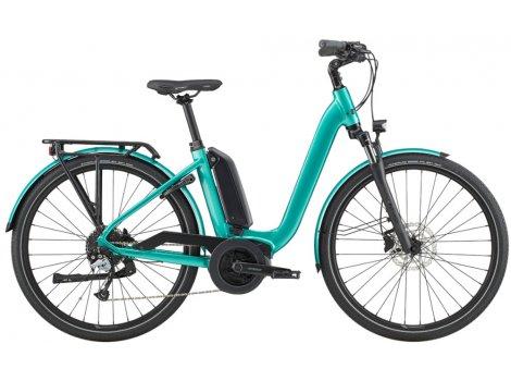Vélo électrique ville Cannondale Mavaro Neo City 4 Bosch 400 Wh Turquoise - 2020