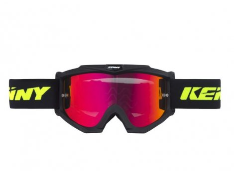 Masque VTT Kenny Track+  Noir Black Matt - 2020