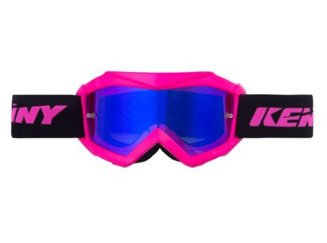 Masque VTT Fille Kenny Track+ Kid Rose Neon Pink - 2020