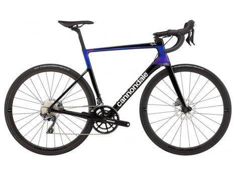 Vélo route Cannondale Super Six Evo Carbone Hi-Mod Shimano Ultegra Disc - 2020