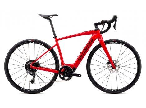 Vélo route électrique Specialized Creo SL Alu comp 250 Wh Rouge - 2020