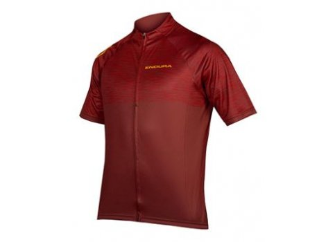 Maillot vélo Endura Hummvee Ray Rouge Bordeaux