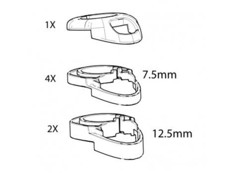 Kit entretoise jeu de direction Cannondale System Six - K28009