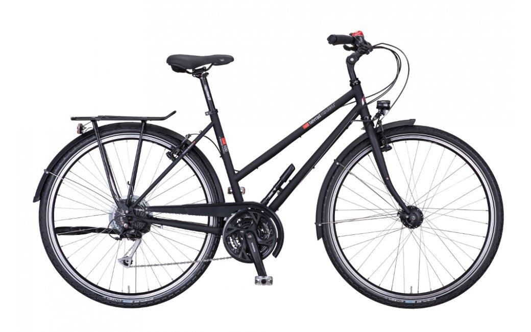 Vélo randonnée VSF Fahrradmanufaktur T100 27 g Trapèze V-Brake - 2020