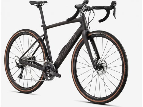 Vélo gravel Specialized Diverge Comp Carbon Noir - 2021