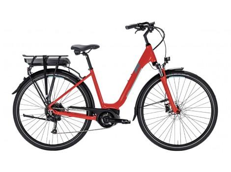Vélo de ville électrique Lapierre Overvolt Urban 400 Red Bosch - 2018