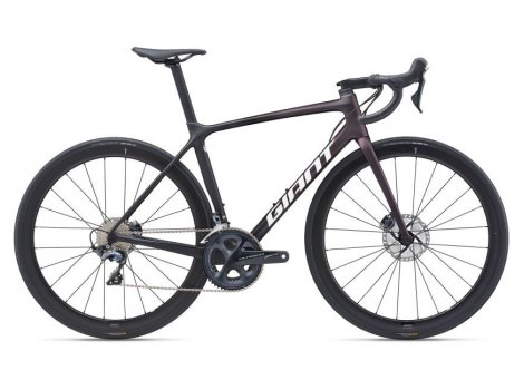 Vélo route Giant Tcr Advanced Pro 1 Disc Rosewood - 2021