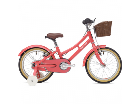 Vélo VTC Enfant Adventure fille rose 16""