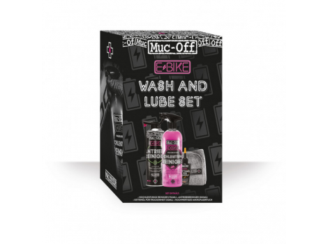 MUC-OFF Kit de nettoyage lubrifiant E-bike