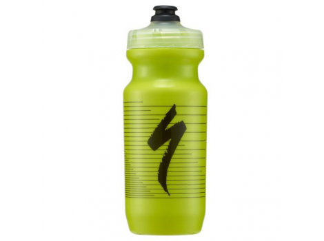 Bidon Specialized Transparent logo rouge 21OZ 600 ml