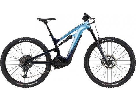 VTT électrique Cannondale Moterra Neo Carbon 2  Bleu - 2021
