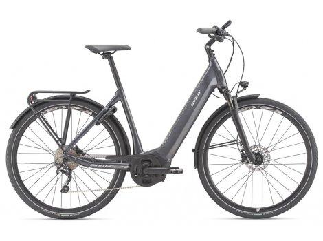 Vélo électrique Anytour E+1 LDS Gris - 2020