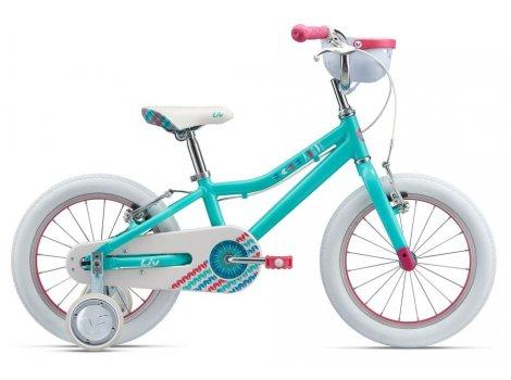 Vélo fille Liv Adore 16 pouces avec roulettes