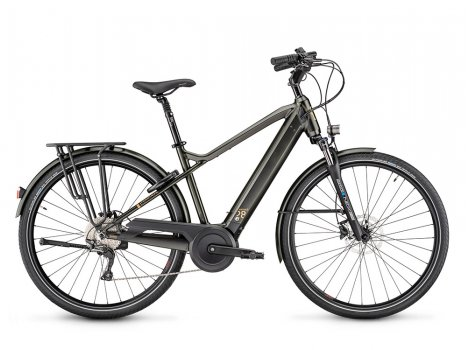 Vélo électrique Moustache Bikes SAMEDI 28.7 Gris-2021