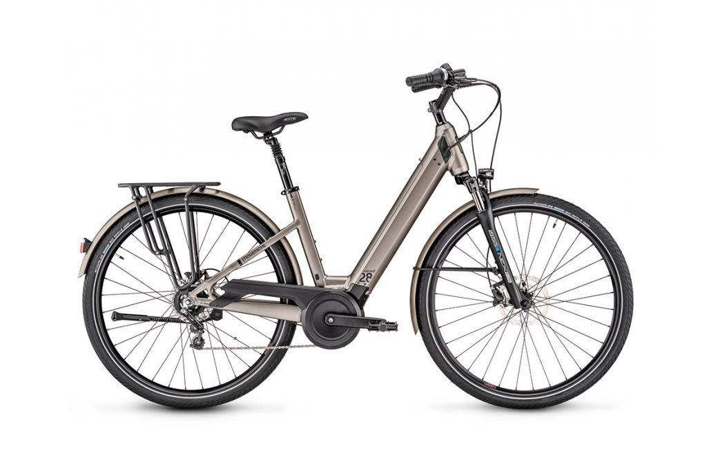 Vélo électrique Moustache Bikes SAMEDI 28.3 OPEN Gris-2021
