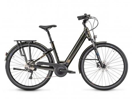 Vélo électrique Moustache Bikes SAMEDI 28.7 OPEN Gris-2021