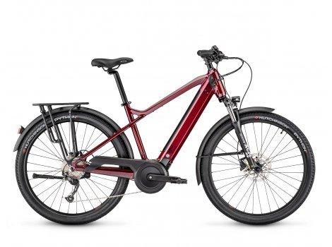 Vélo électrique Moustache Bikes SAMEDI 27 XROAD 2 Rouge-2021