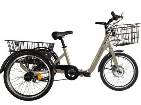 Tricycle électrique pliant Monty E132 Champagne - 2020