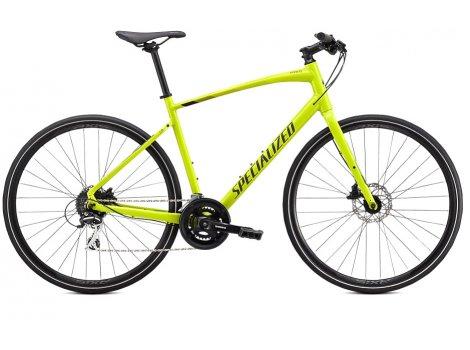 Vélo Fitness Specialized Sirrus 2.0 Jaune/Noir - 2020