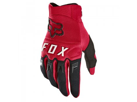 Gants VTT Fox Dirtpaw Rouge/Noir  - 2021