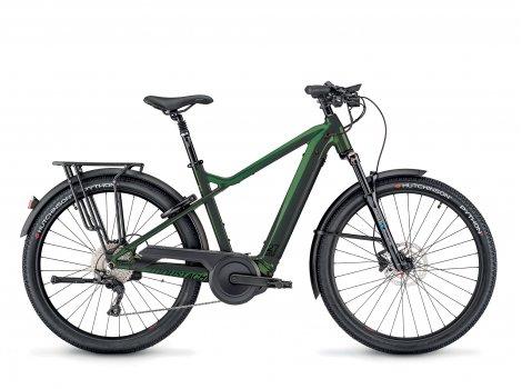 Vélo électrique Moustache Bikes SAMEDI 27 XROAD 7 Vert-2021