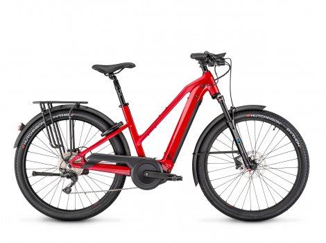 Vélo électrique Moustache Bikes SAMEDI 27 XROAD 5 OPEN Rouge-2021