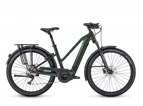 Vélo électrique Moustache Bikes SAMEDI 27 XROAD 7 OPEN Vert-2021
