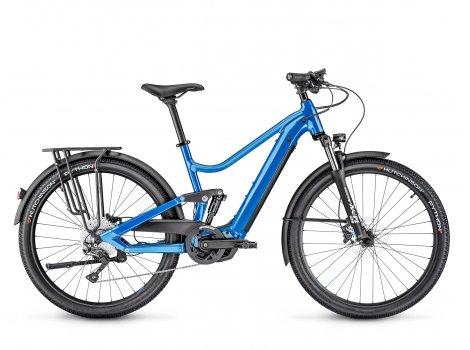 Vélo électrique Moustache Bikes SAMEDI 27 XROAD FS 3 Bleu-2021