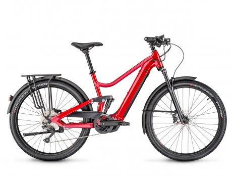 Vélo électrique Moustache Bikes SAMEDI 27 XROAD FS 5 Rouge-2021