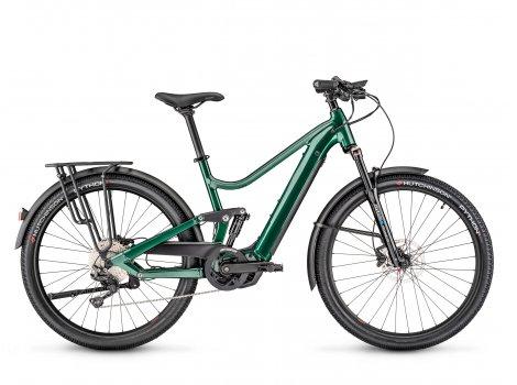 Vélo électrique Moustache Bikes SAMEDI 27 XROAD FS 7 vert-2021