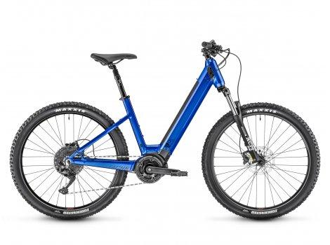 VTT électrique Moustache Bikes SAMEDI 27 OFF 2 OPEN Bleu-2021