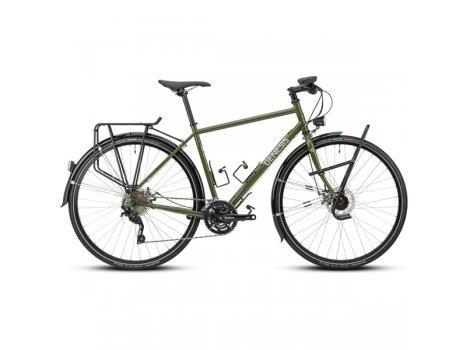 Vélo Gravel Genesis Tour de Fer 20 Flat Vert - 2021