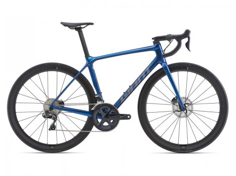 Vélo de route Giant TCR ADvanced Pro 0 Disc Bleu - 2021