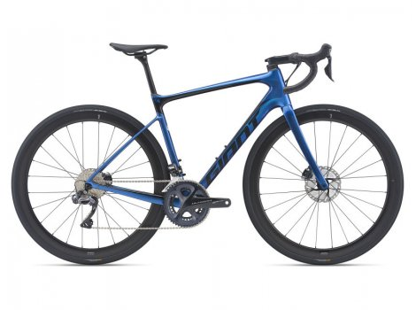 Vélo de route Giant Defy Advanced Pro 1 Bleu - 2021