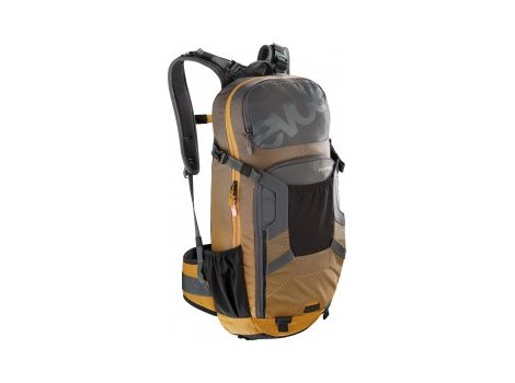 Sac VTT Evoc Protector Enduro 16L Gris/Orange - 2021