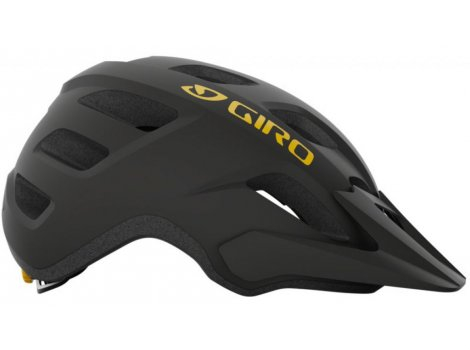 Casque Giro Fixture Noir/Orange Mat - 2021