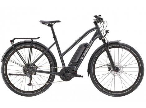 Vélo électrique Trek Allant+ 5 Stagger Trapeze noir - 2021
