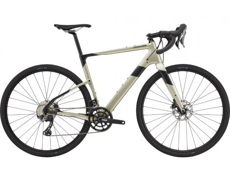 Vélo gravel Cannondale Topstone Carbon 4 Gris Noir - 2021
