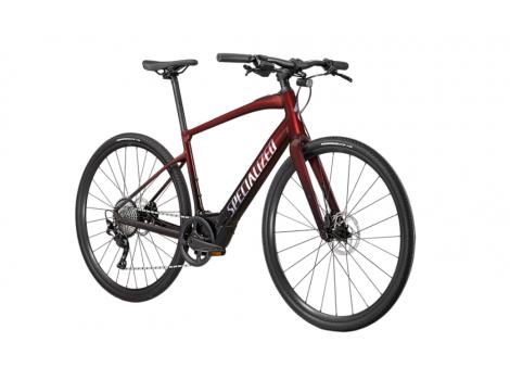 Vélo de ville électrique Specialized VADO SL 4.0 Rouge/Noir - 2021