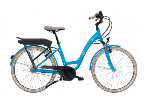 Vélo de ville électrique O2Feel N7C 374Wh - 2018