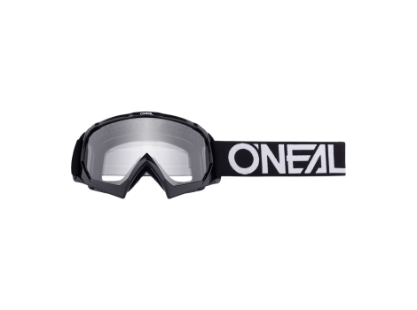 Masque enfant VTT B-10 Solid Noir/Blanc - 2021