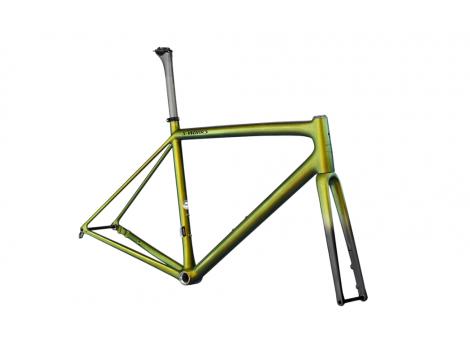 Kit cadre vélo de route Specialized Aethos Pro Gris - 2021