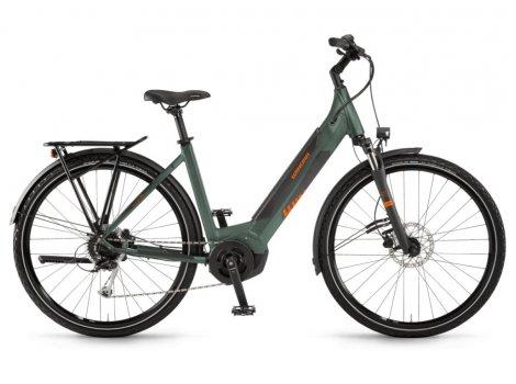 Vélo électrique Winora Yucatan i9 Wave Vert - 500Wh - 2021