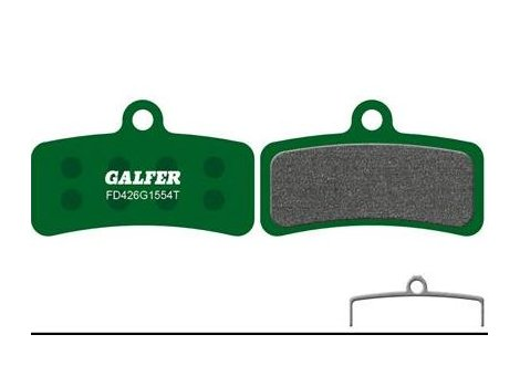 Plaquettes de frein Galfer Shimano Saint 810/ZEE