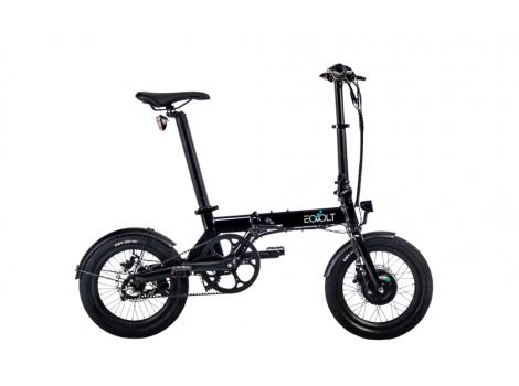 Vélo électrique pliant Eovolt City X Nexus 250W Noir - 2021
