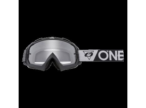 Masque VTT ONEAL B-10 SpeedMetal Noir/Gris - Ecran clair - 2021