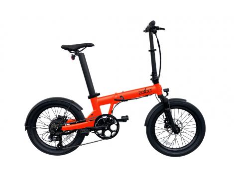 Vélo électrique pliant Eovolt Confort X Orange - 2021