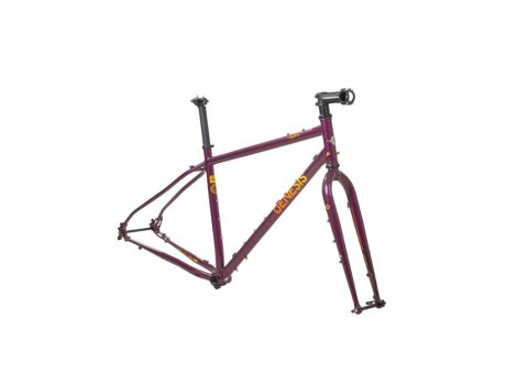 Kit cadre Genesis Bike Vagabond violet - 2021